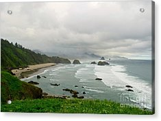 Acrylic Print featuring the photograph Cannon Coast by Suzette Kallen