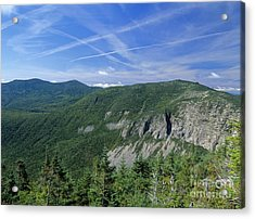 Cannon Mountain - White Mountains New Hampshire Usa Acrylic Print