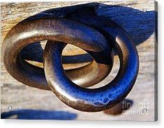 Cannon Rings Acrylic Print