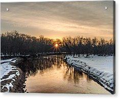 Cannon River Sunrise Acrylic Print