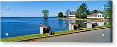 Cannons And Barker House From 1762 Acrylic Print by Panoramic Images