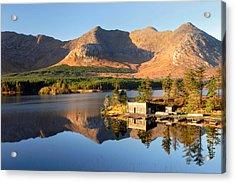 Canoe Club In Connemara Ireland Acrylic Print by Pierre Leclerc Photography