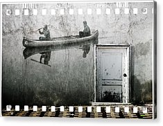 Canoe Wall Mural Acrylic Print