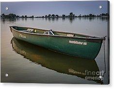 Canoe Stillness Acrylic Print