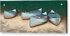 Canoe Trip At Cedar Water Acrylic Print