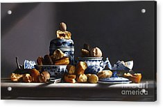 Canton With Donuts Acrylic Print by Larry Preston