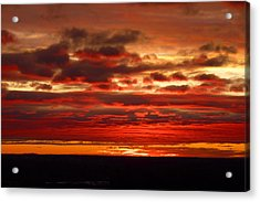 Canvas By God Acrylic Print by Tim Mattox
