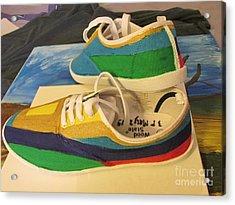 Canvas Shoe Art 003 Acrylic Print