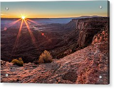 Canyon Country Sunrise Acrylic Print