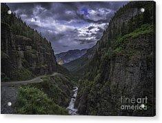 Canyon Creek Sunset Acrylic Print
