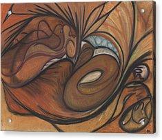 Canyon Dancer Acrylic Print by Stu Hanson