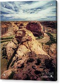 90146 Canyon De Chelly Acrylic Print