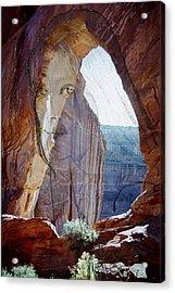 Canyon De Chelly Spirit Acrylic Print