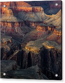 Acrylic Print featuring the photograph Canyon Enchantment by Carl Amoth