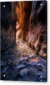 Canyon Glow Acrylic Print