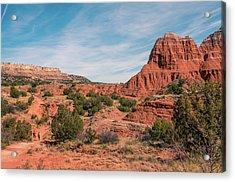 Canyon Hike Acrylic Print
