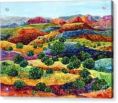 Canyon Impressions Acrylic Print