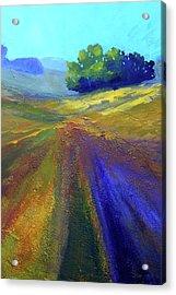 Canyon Landscape Painting Acrylic Print