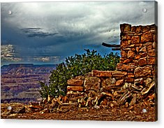 Canyon Outlook Acrylic Print by William Wetmore