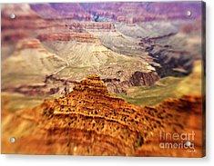Canyon Peak Acrylic Print by Scott Pellegrin