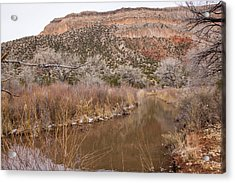 Canyon River Acrylic Print by Ricky Dean