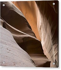 Canyon Sandstone Abstract Acrylic Print
