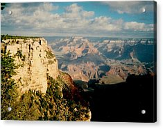 Acrylic Print featuring the photograph Canyon Shadows by Fred Wilson