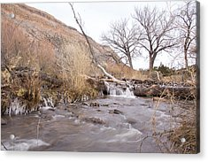 Canyon Stream Current Acrylic Print