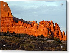 Canyonlands At Sunset Acrylic Print by Marty Koch