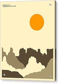 Canyonlands National Park Acrylic Print by Jazzberry Blue