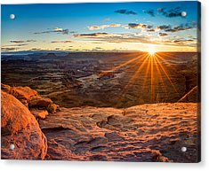 Canyonlands Sunset Acrylic Print