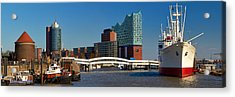 Acrylic Print featuring the photograph Cap San Diego by Marc Huebner