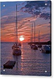 Cape Ann Sunrise Acrylic Print