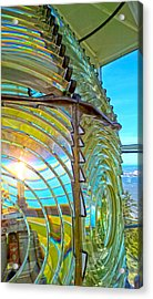 Cape Blanco Lighthouse Lens Acrylic Print