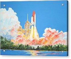 Cape Canaveral Acrylic Print by Dennis Vebert