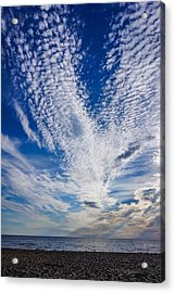 Acrylic Print featuring the photograph Cape Clouds by Kendall McKernon
