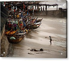 Acrylic Print featuring the photograph Cape Coast Storm by Wayne King