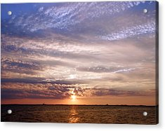 Cape Cod Bay And Sky Acrylic Print