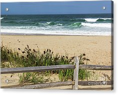 Acrylic Print featuring the photograph Cape Cod Bliss by Michelle Wiarda