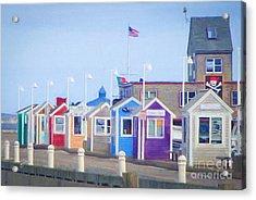 Cape Cod Cabins Acrylic Print
