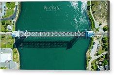Cape Cod Canal Railroad Bridge Acrylic Print