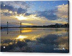 Cape Cod Canal Sunrise Acrylic Print