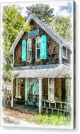 Cape Cod Cottage Cba Acrylic Print by Edward Fielding