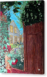 Cape Cod Cottage Acrylic Print by Joshua Armstrong