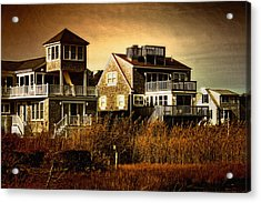 Cape Cod Gold Acrylic Print by Gina Cormier