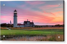Cape Cod Highland Links Acrylic Print by Bill Wakeley