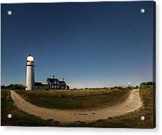 Cape Cod Light Starry Night Acrylic Print