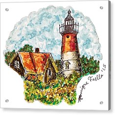 Cape Cod Lighthouse Acrylic Print