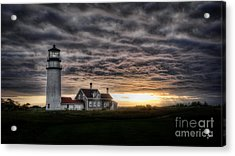 Cape Cod Lighthouse Acrylic Print by TK Goforth