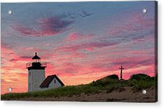 Cape Cod Long Point Light Acrylic Print